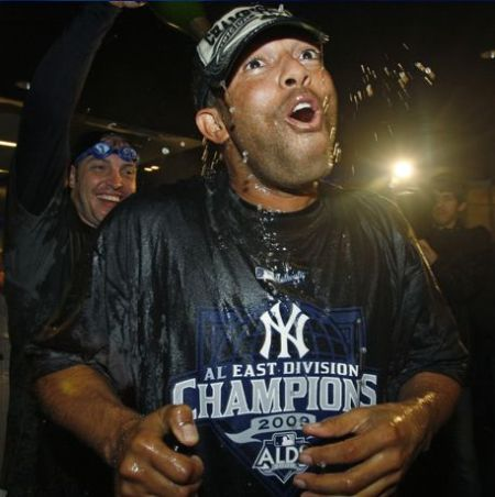 You won't see Mariano smile this big again until Jesus returns.
